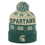 Adult Top of the World Michigan State Spartans Subarctic Beanie