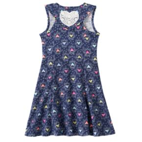 Disney's Minnie Mouse Toddler Girl Racerback Heart Skater Dress by Jumping Beans®
