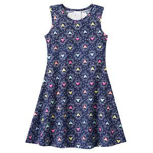 Disney's Minnie Mouse Girls 4-7 Racerback Heart Skater Dress by Jumping Beans®