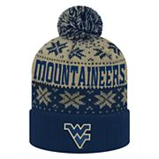 Adult Top of the World West Virginia Mountaineers Subarctic Beanie