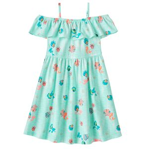 Disney's The Little Mermaid Toddler Girl Ariel Off-The-Shoulder Dress by Jumping Beans®