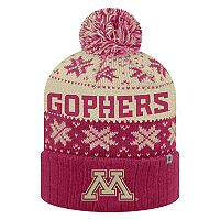 Adult Top of the World Minnesota Golden Gophers Subarctic Beanie