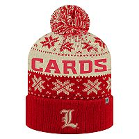 Adult Top of the World Louisville Cardinals Subarctic Beanie