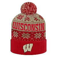 Adult Top of the World Wisconsin Badgers Subarctic Beanie