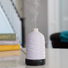 Click here to buy Airome by Candle Warmers Etc. Harmony Ultra Sonic Essential Oil Diffuser.