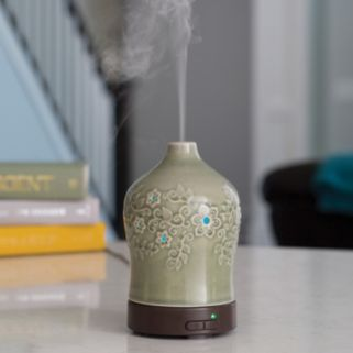 Airome by Candle Warmers Etc. Perennial Ultra Sonic Essential Oil Diffuser