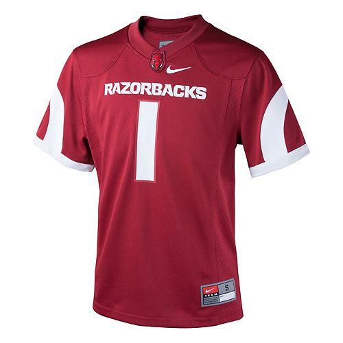 Boys 8-20 Nike Arkansas Razorbacks Replica Jersey
