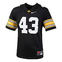 Boys 8-20 Nike Iowa Hawkeyes Replica Jersey