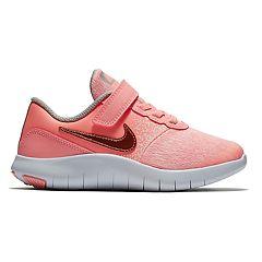b2e78bc9e Nike Flex Contact Preschool Girls  Sneakers. Pink Gold. clearance