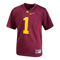 Boys 8-20 Nike Minnesota Golden Gophers Replica Jersey