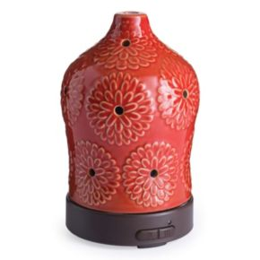 Airome by Candle Warmers Etc. Floral Ultra Sonic Essential Oil Diffuser
