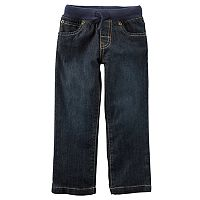 Boys 4-8 Carter's Pull On Denim Pants