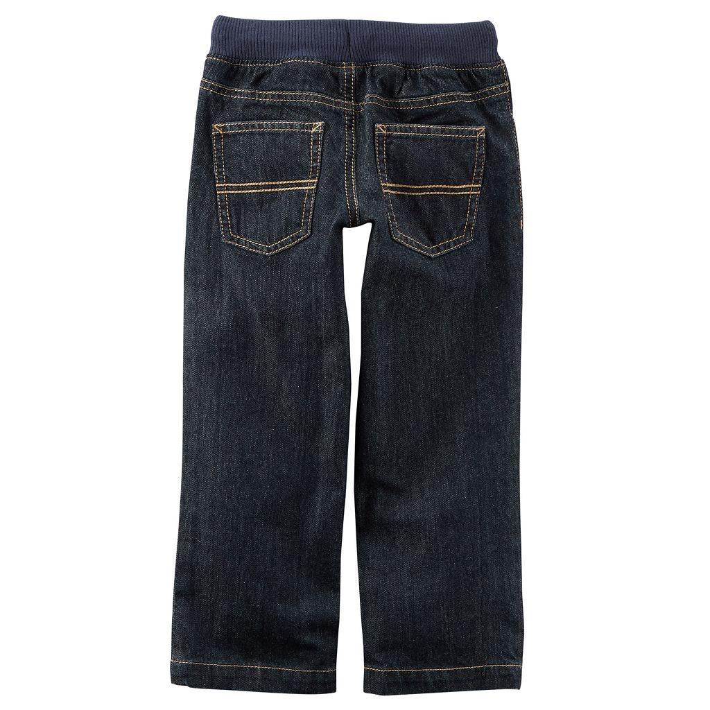 Boys 4-8 Carter's Pull On Denim Pants