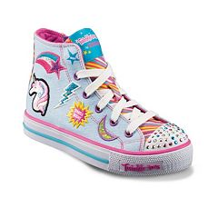 Skechers Twinkle Toes Shuffles Twist Girls' Light-Up Sneakers