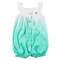 Baby Girl Carter's Dip-Dye Romper
