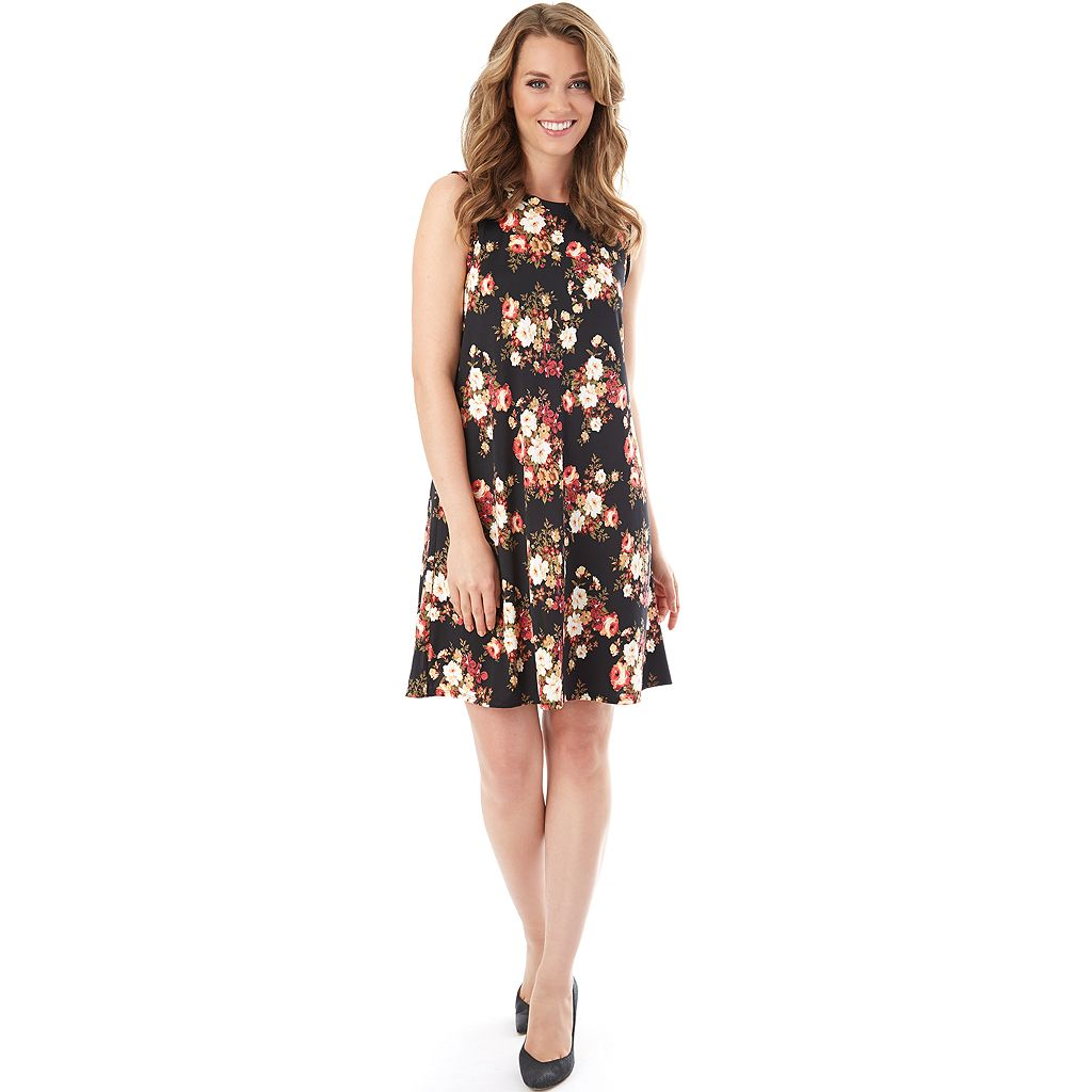 Women's AB Studio Printed Swing Dress