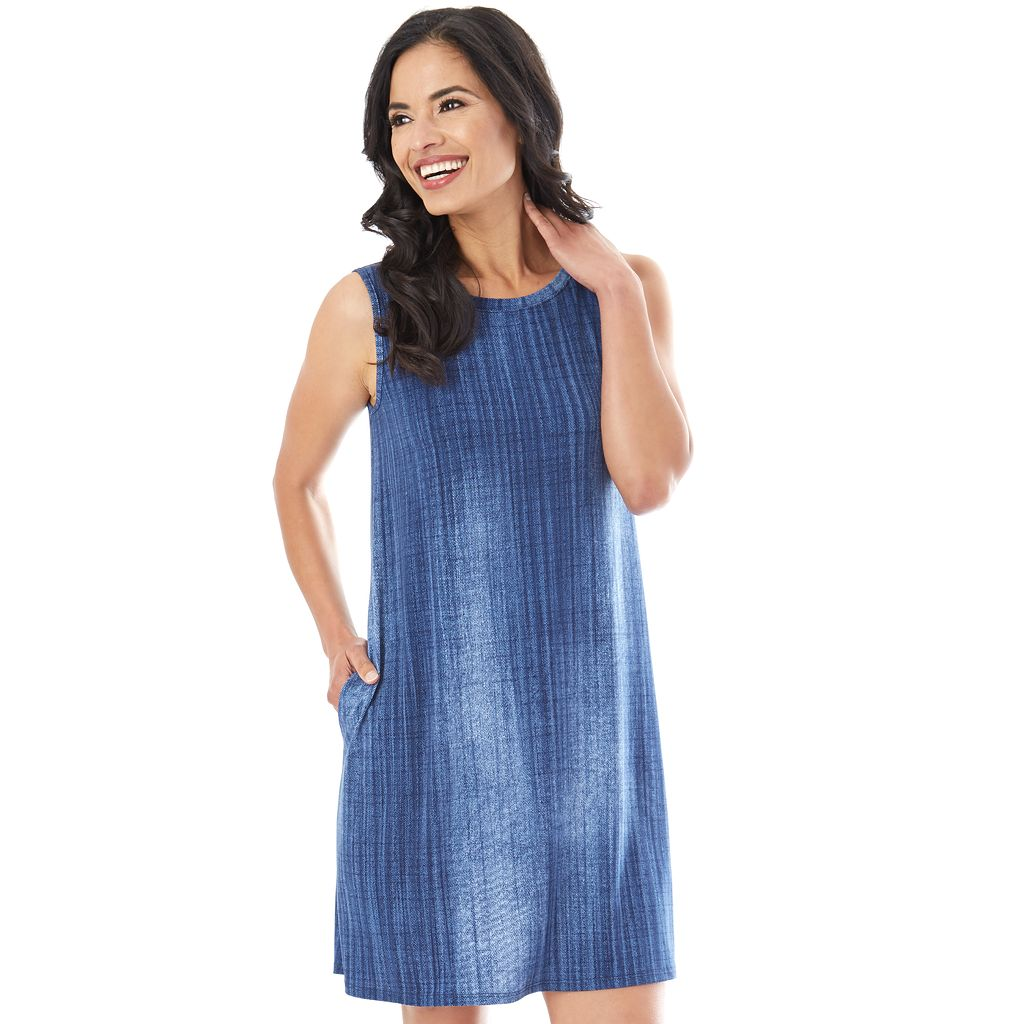 Women's AB Studio Printed Swing Dress
