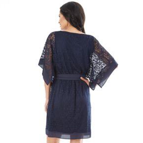 Women's AB Studio Lace Kimono Dress