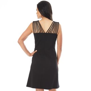 Women's AB Studio Strappy Shift Dress