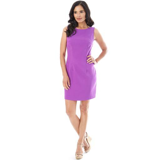 Women's AB Studio Solid Sheath Dress