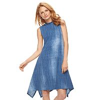 Women's Bethany Denim Print Shift Dress