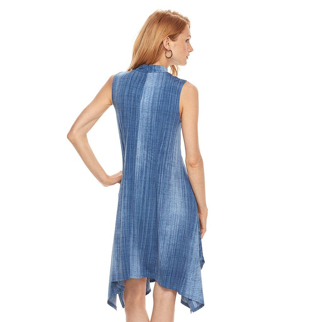 Women's Bethany Denim Print Shift Dress