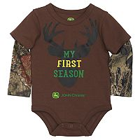 Baby Boy John Deere Mock-Layer