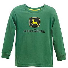 Baby Boy John Deere Logo Tee