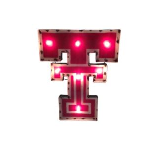 Texas Tech Red Raiders Light-Up Wall Décor