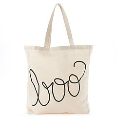 Tri-Coastal Design 'Boo' Canvas Tote