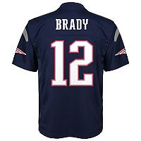 Boys 4-7 New England Patriots Tom Brady Replica NFL Jersey