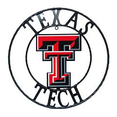 Texas Tech Red Raiders 32-Inch Wrought Iron Wall Décor