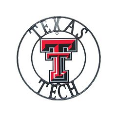 Texas Tech Red Raiders 24-Inch Wrought Iron Wall Décor