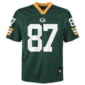 Boys 4-7 Green Bay Packers Jordy Nelson Replica NFL Jersey