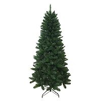 St. Nicholas Square® 7-ft. Pre-Lit Green Spruce Artificial Christmas Tree