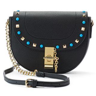 Olivia Miller Shayna Studded Flap Crossbody Bag