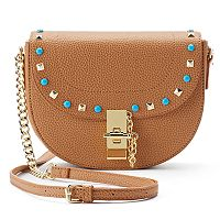 Olivia Miller Shayna Studded Flap Crossbody Bag