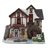 St. Nicholas Square® Village Mill with Motion