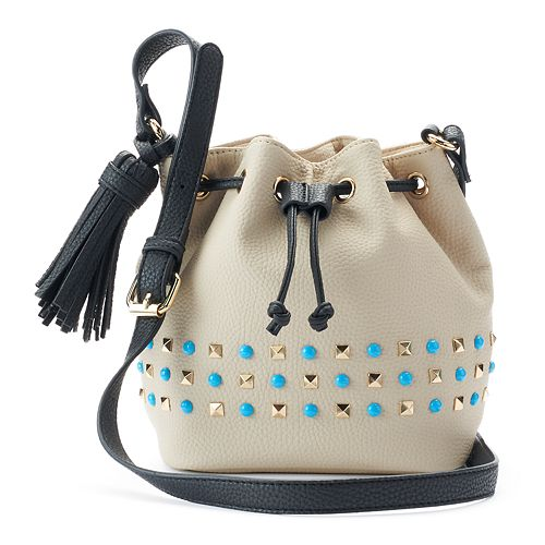 Olivia Miller Braelyn Studded Bucket Bag