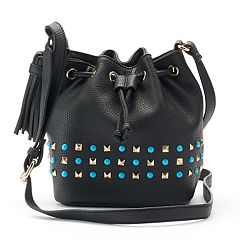 Olivia Miller Braelyn Studded Bucket Bag