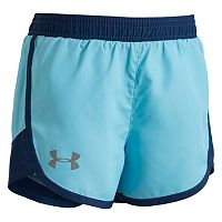 Toddler Girl Under Armour Colorblock Dolphin-Hem Shorts