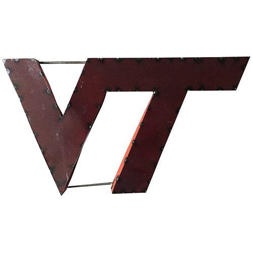 Virginia Tech Hokies Metal Wall Décor