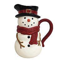 St. Nicholas Square® Yuletide Snowman Pitcher