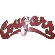 Washington State Cougars Metal Wall Décor