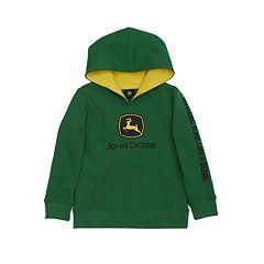 Baby Boy John Deere Logo Hoodie