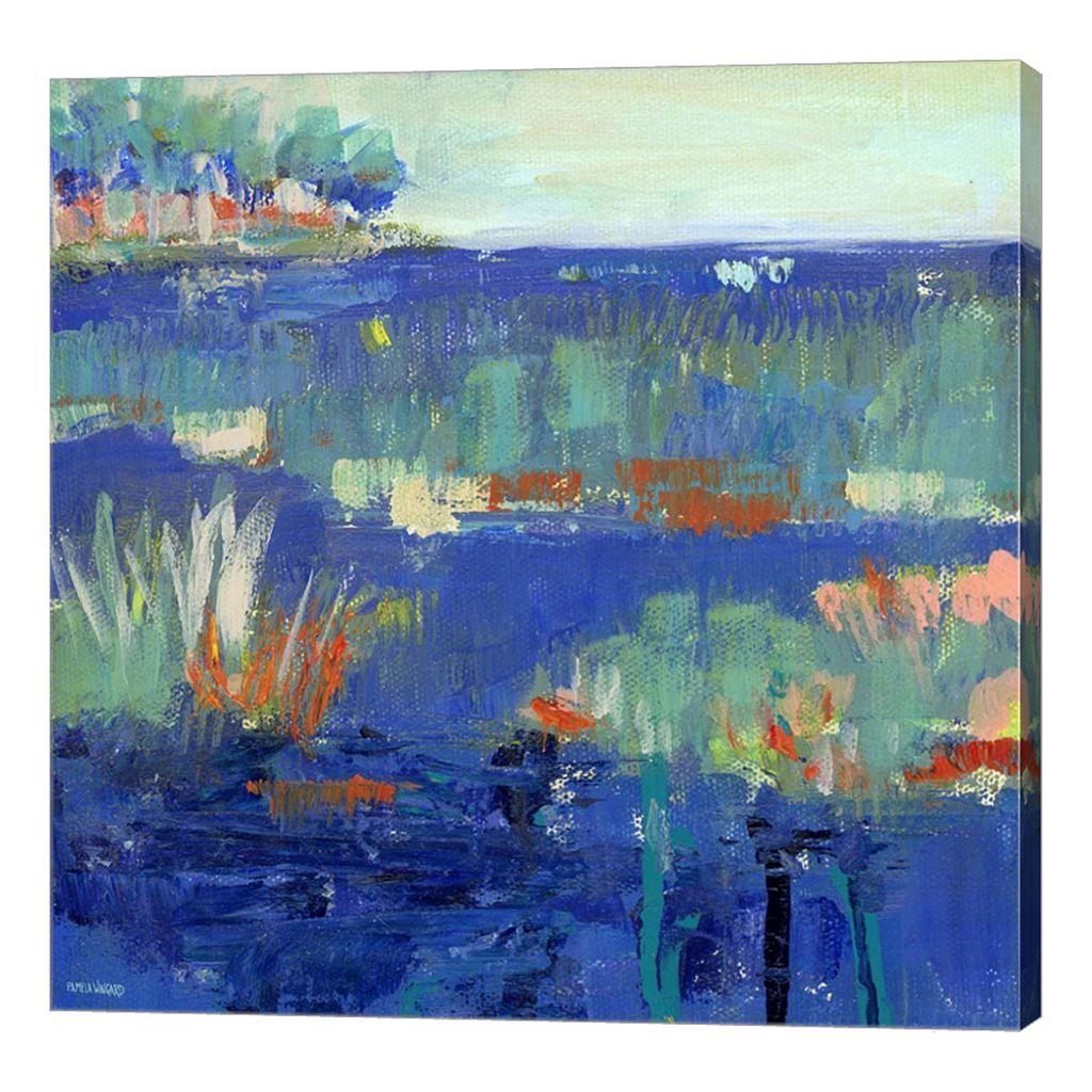 Metaverse Art Blue Series Rest Canvas Wall Art