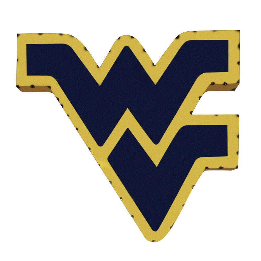 West Virginia Mountaineers Metal Wall Décor