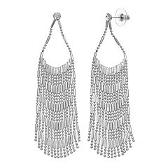 Jennifer Lopez Nickel Free Fringe Drop Earrings