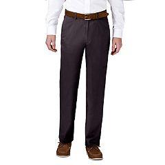 Men's Haggar Coastal Comfort Classic-Fit Stretch Flat-Front Chino Pants