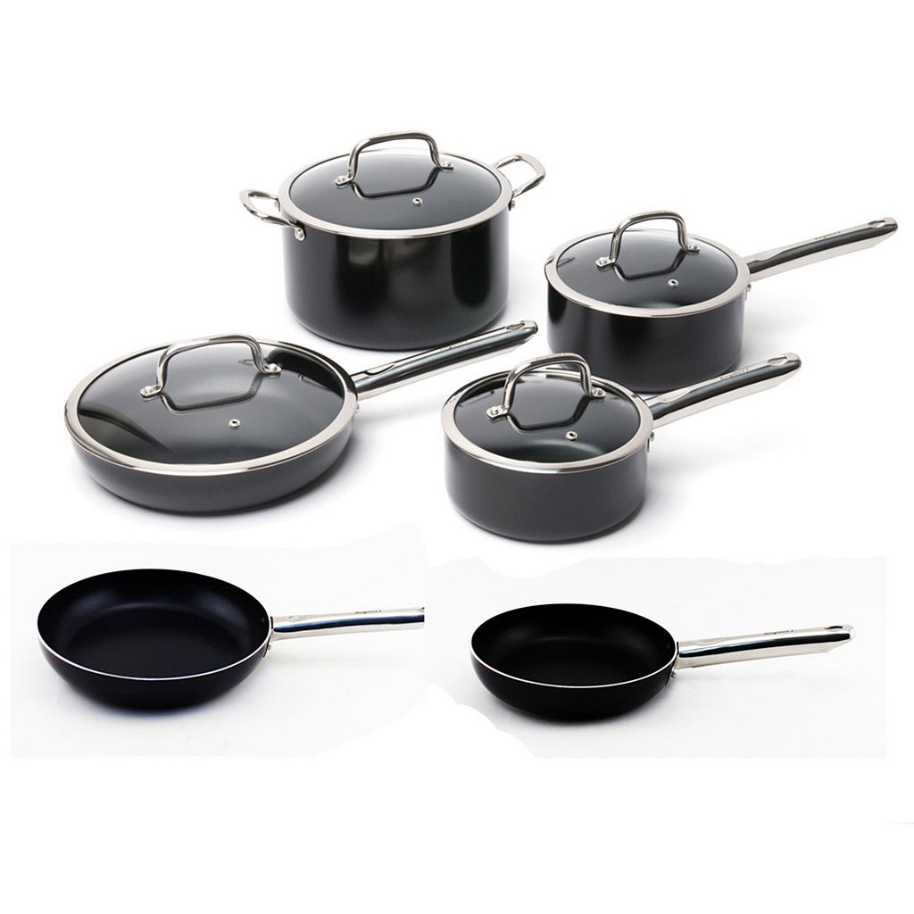BergHOFF Earthchef Boreal  10-pc. Aluminum Nonstick Cookware Set
